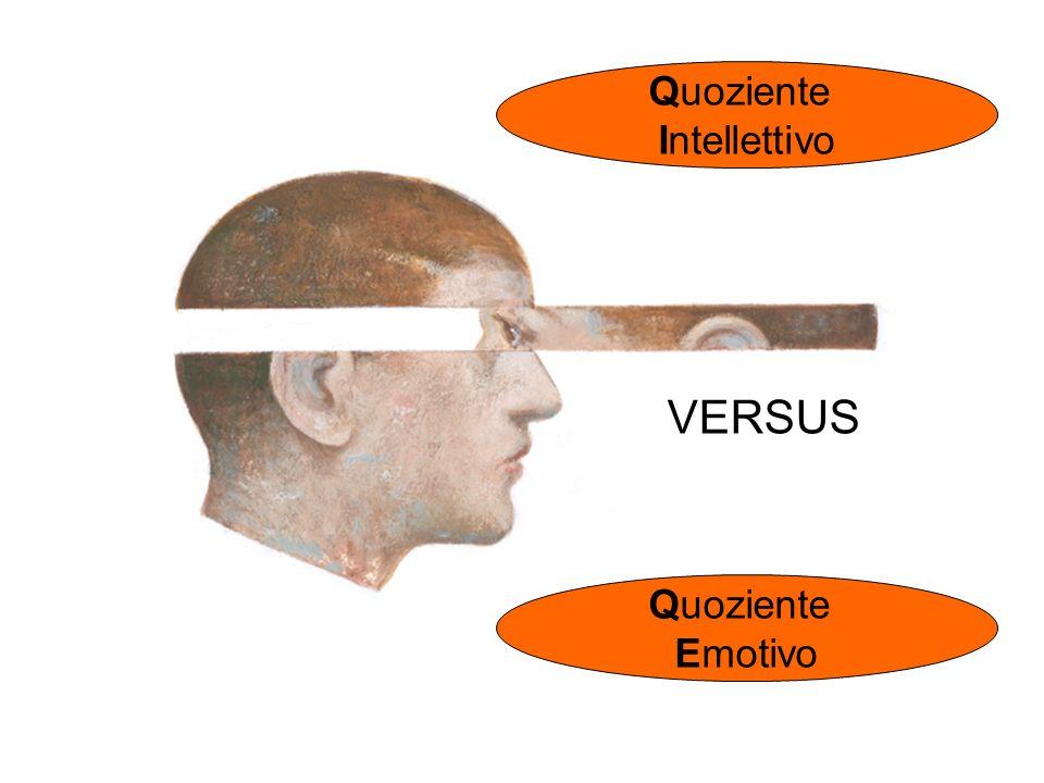 VERSUS Quoziente Emotivo Quoziente Intellettivo
