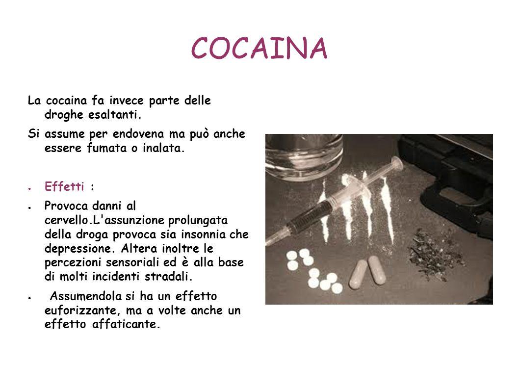 MORFINA La morfina è un derivato dell'oppio e come esso è una sostanza euforizzante. E' usata sia a scopo terapeutico sia come sostanza base per l'ero
