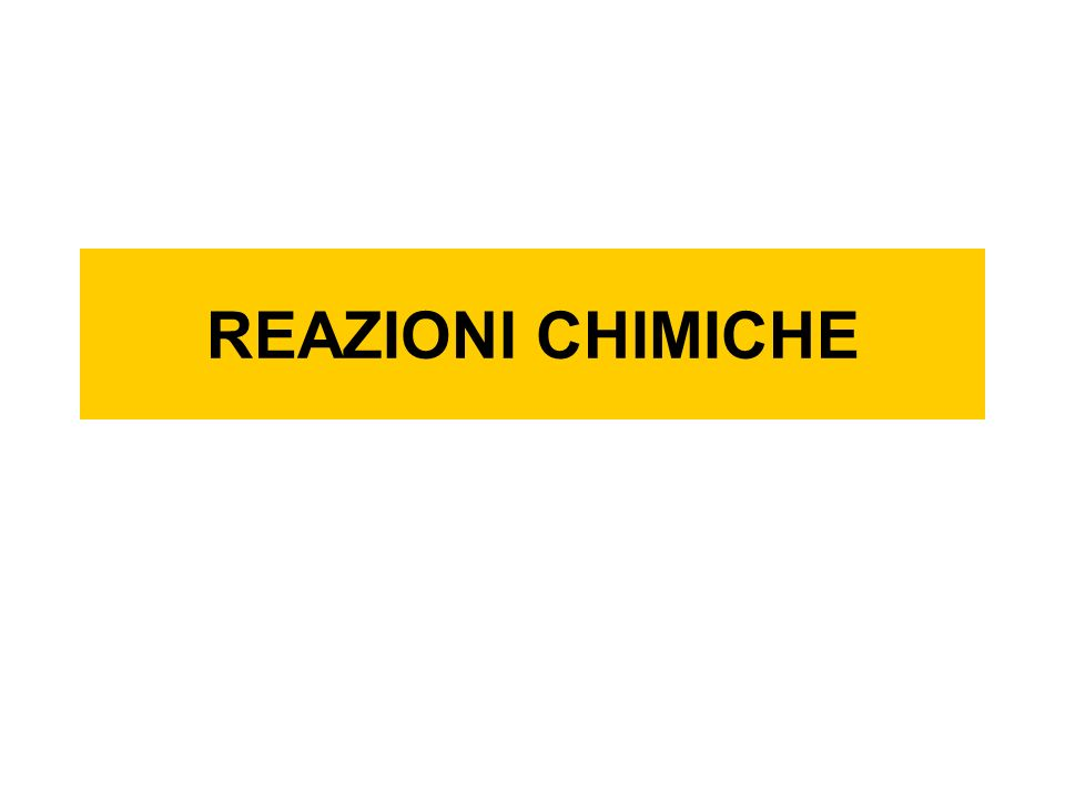 Bilanciare una reazione La reazione bilanciata è: CH 4 + 2O 2 = 2H 2 O + CO 2 + = +