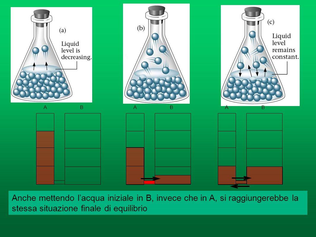 La concentrazione del reagente diminuisce nel tempo V 1 diminuisce nel tempo La concentrazione dei prodotti cresce nel tempo V 2 cresce nel tempo Quan