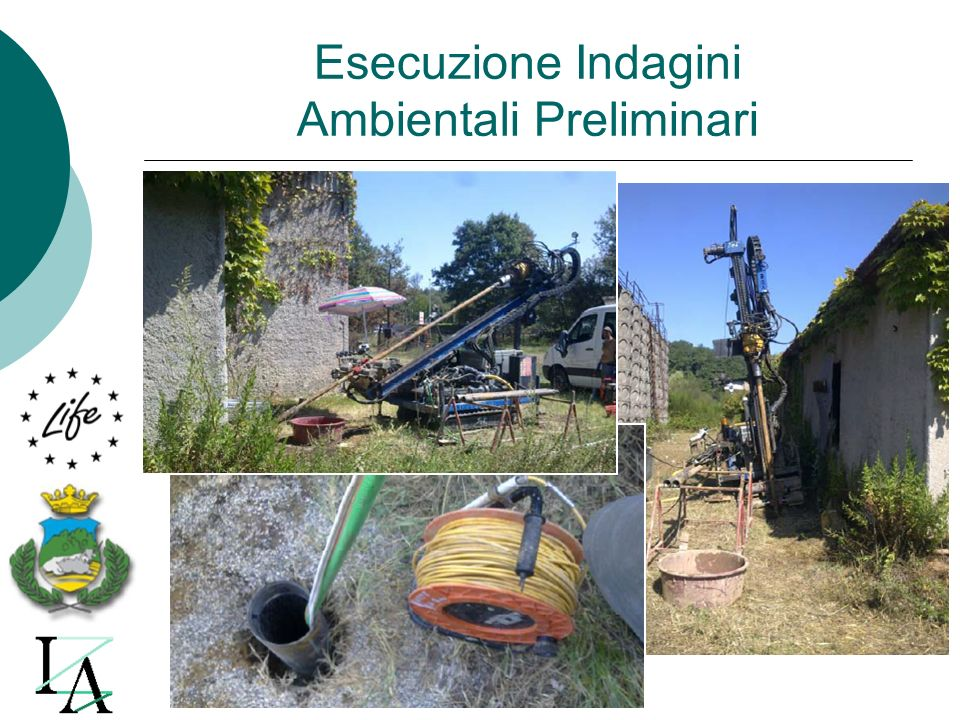 Esecuzione Indagini Ambientali Preliminari