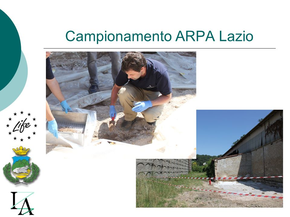 Campionamento ARPA Lazio