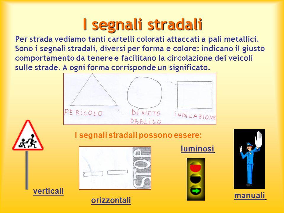 I segnali stradali verticali Sono generalmente tondi, bianchi e con un bordo rosso.