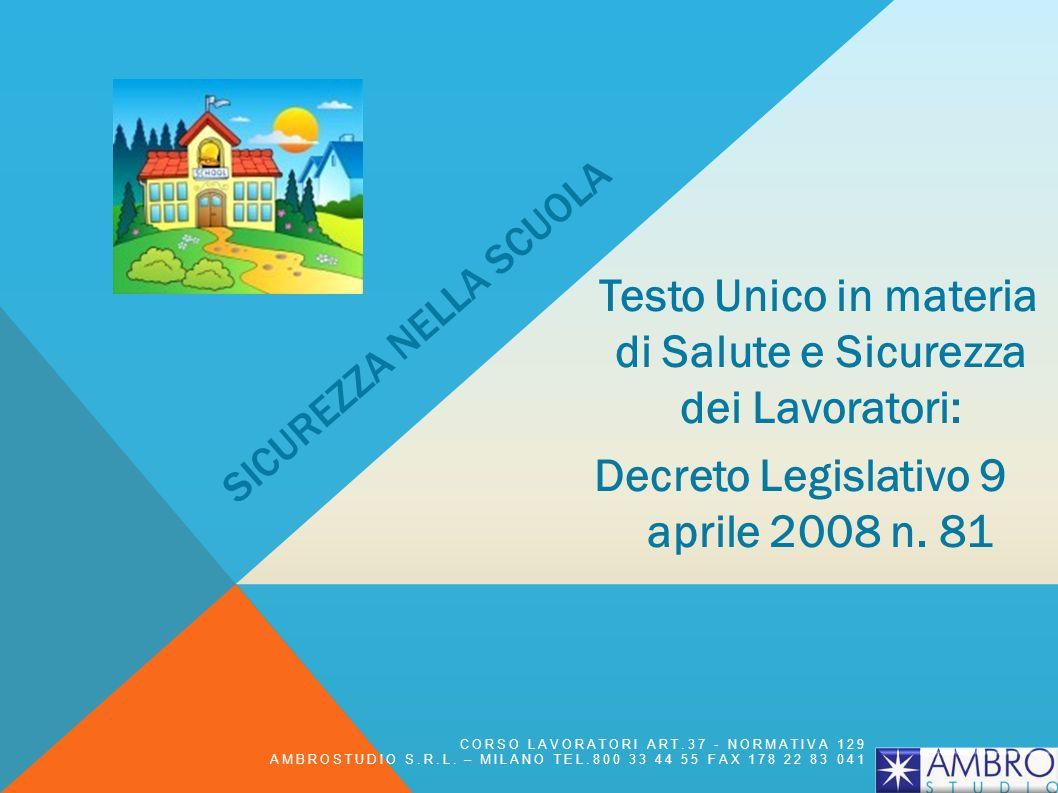 ARTICOLO 44 - DIRITTI DEI LAVORATORI IN CASO DI PERICOLO GRAVE E IMMEDIATO 1.