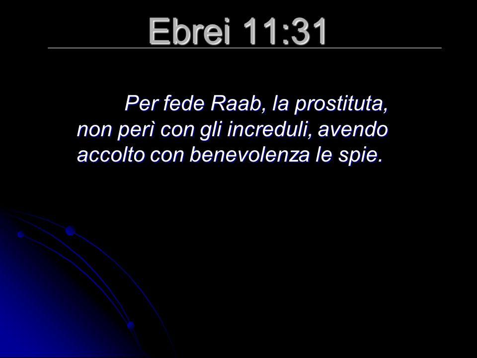 Giosuè 2:3 Allora il re di Gerico mandò a dire a Raab: «Fa uscire quegli uomini che sono venuti da te e sono entrati in casa tua; perché sono venuti a esplorare tutto il paese».