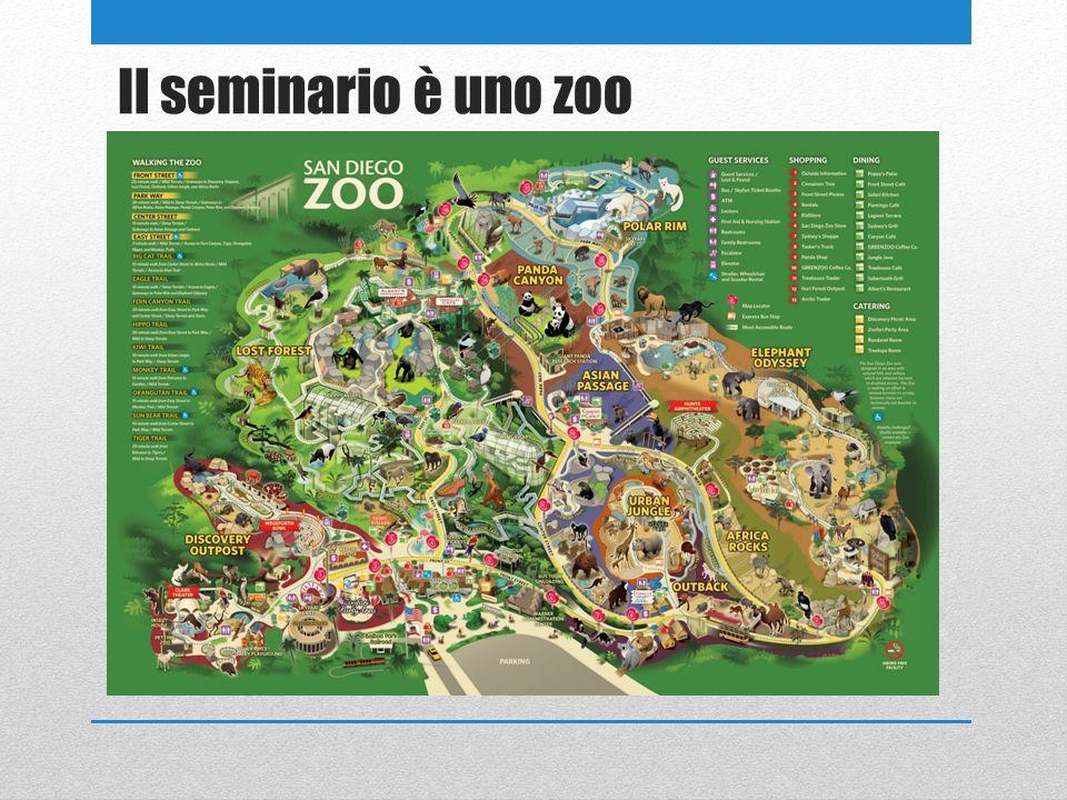 Il seminario è uno zoo