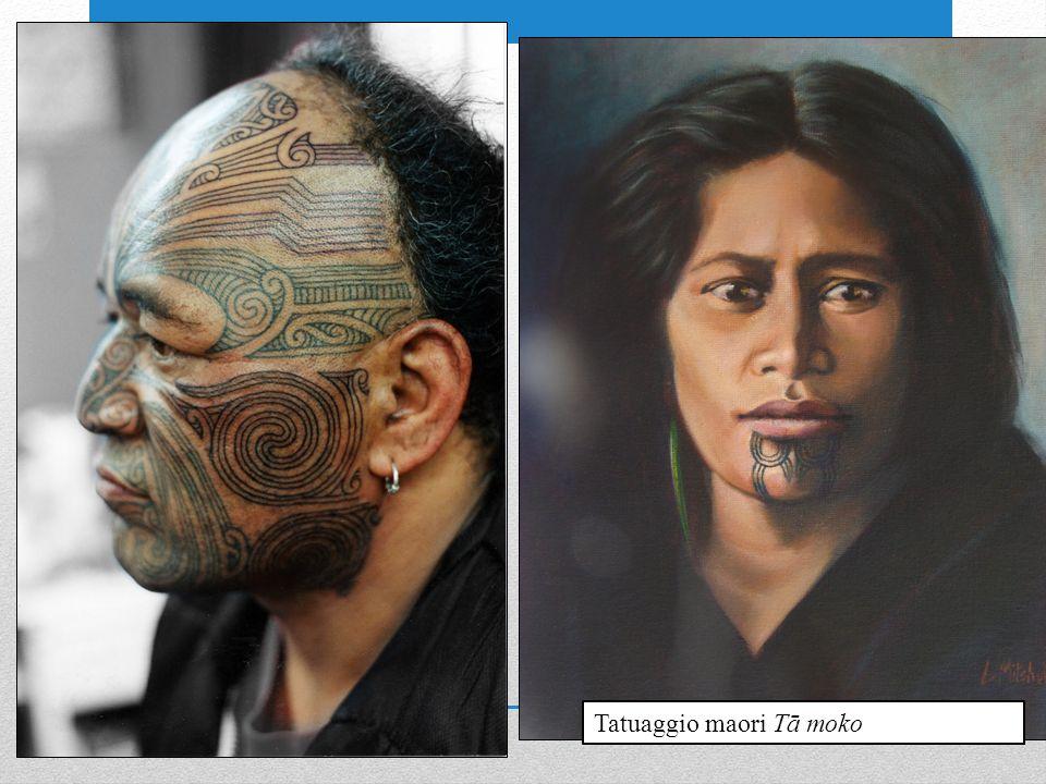 Tatuaggio maori Tā moko