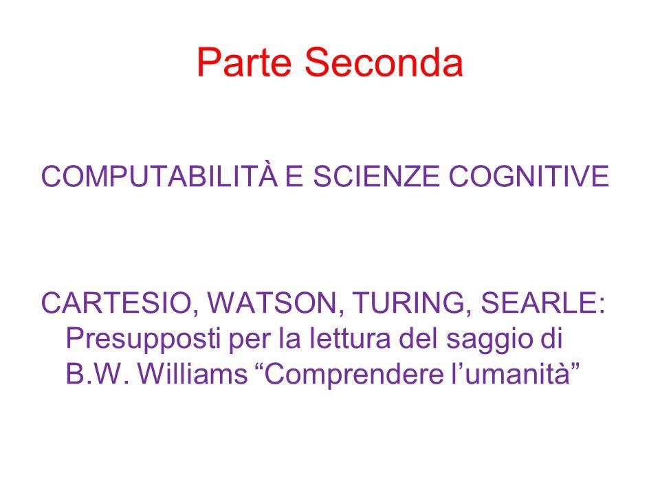 Le scienze cognitive: motivazioni e implicazioni Qual è loggetto delle scienze cognitive.