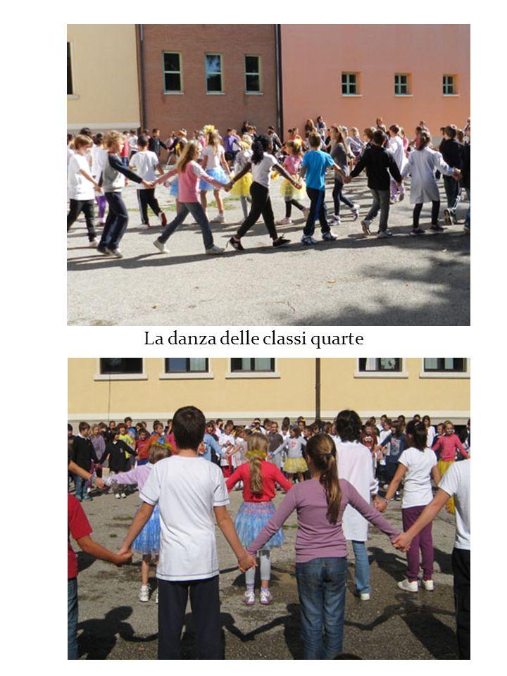 La danza delle classi quarte