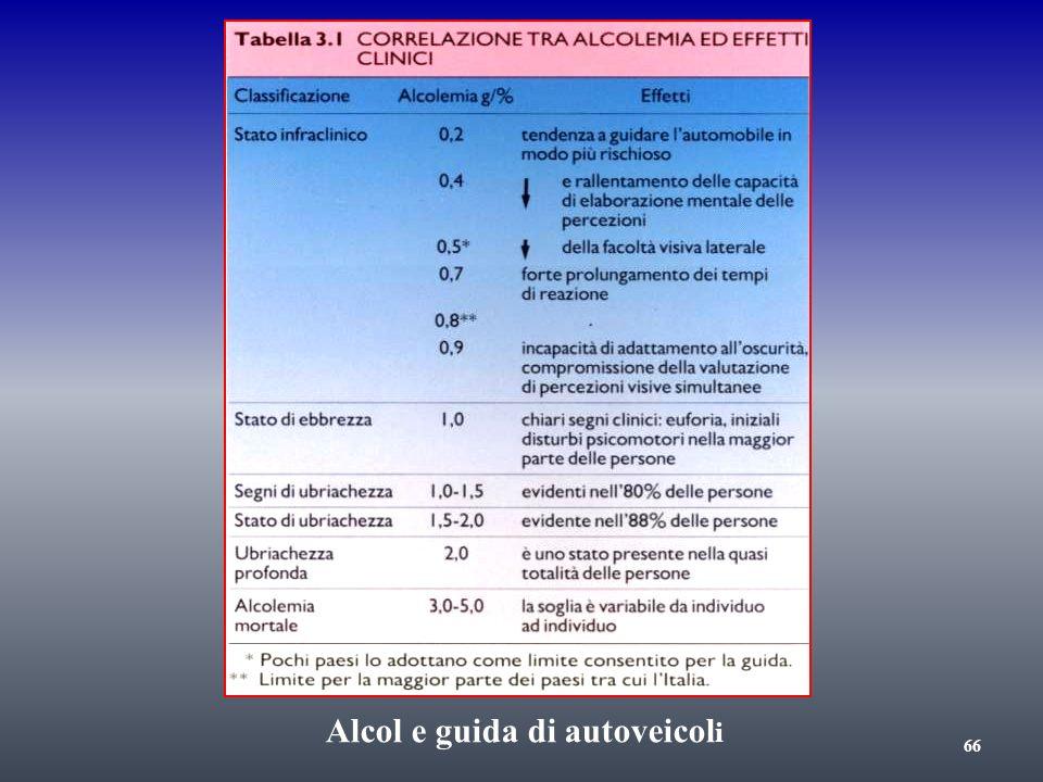 Alcol e guida di autoveicol i 66