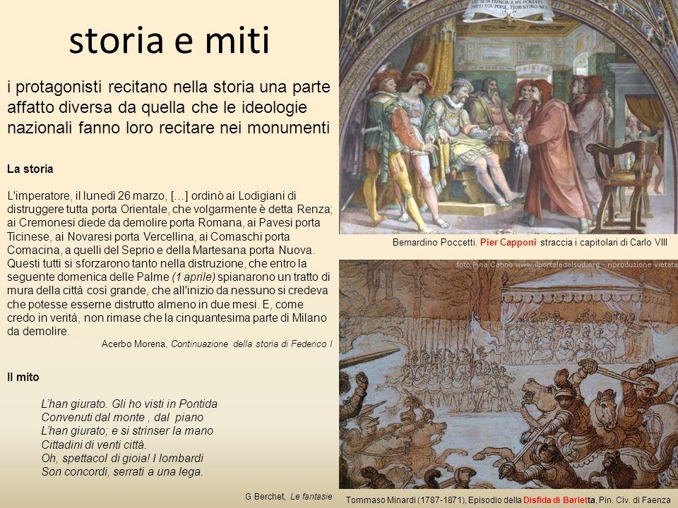 storia e miti Tommaso Minardi (1787-1871), Episodio della Disfida di Barletta, Pin.