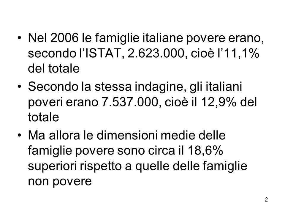 3 Dove è concentrata la povertà.