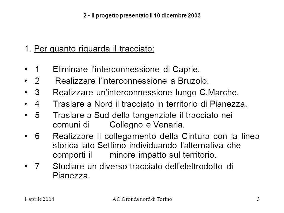 1 aprile 2004AC Gronda nord di Torino3 1.
