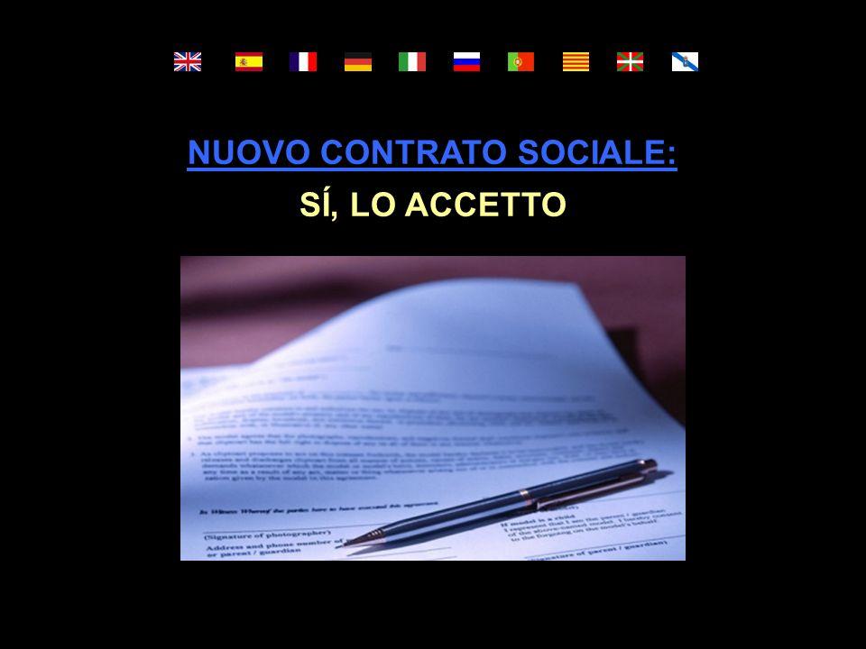 IL NUOVO CONTRATTO SOCIALE DEL XXI SECOLO