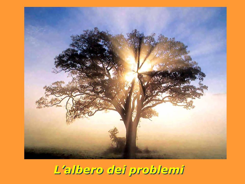 Lalbero dei problemi Lalbero dei problemi