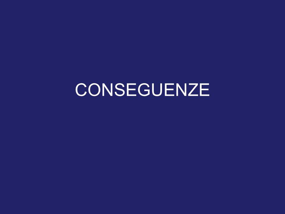 CONSEGUENZE