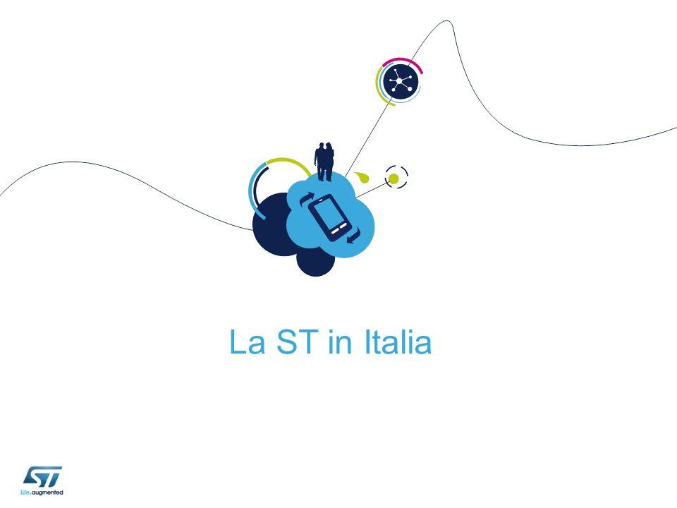 L attività della STMicroelectronics in Italia Agrate e Castelletto Catania Due poli d eccellenza per lo sviluppo di Componenti Elettronici e Soluzioni di STMicroelectronics 6 Lecce Napoli Aosta Palermo