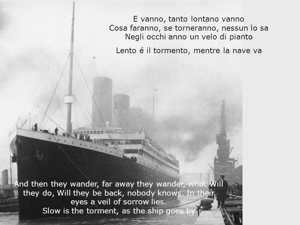 Gli imigranti Italiani vanno The immigrants wander: