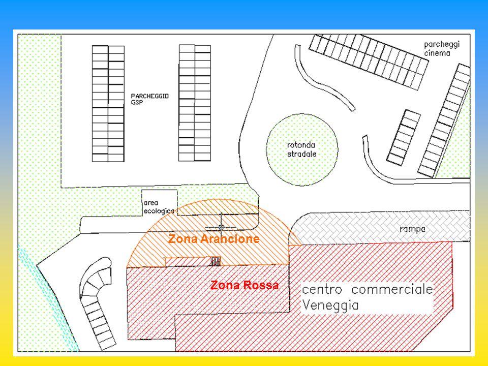 Zona Gialla Zona Arancione Zona Rossa
