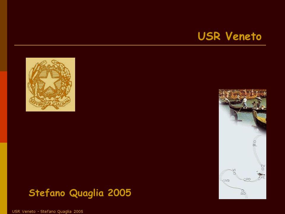 USR Veneto - Stefano Quaglia 2005 USR Veneto Stefano Quaglia 2005