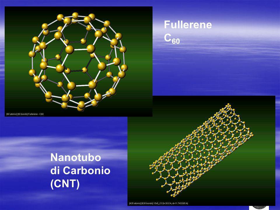 Fullerene C 60 Nanotubo di Carbonio (CNT)