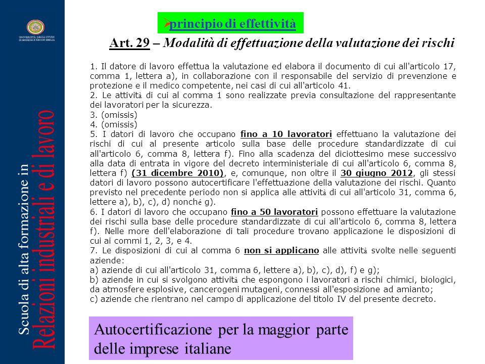 1. Il datore di lavoro effettua la valutazione ed elabora il documento di cui all'articolo 17, comma 1, lettera a), in collaborazione con il responsab