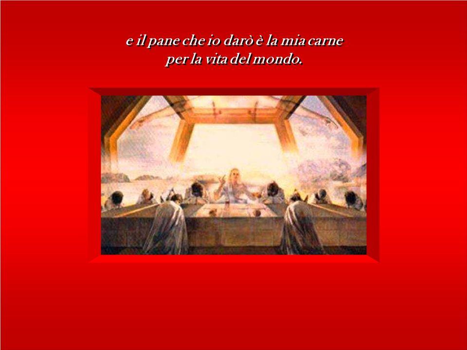 In quel tempo, Gesù disse alle folle dei Giudei: In quel tempo, Gesù disse alle folle dei Giudei: Io sono il pane vivo disceso dal cielo. Se uno mangi