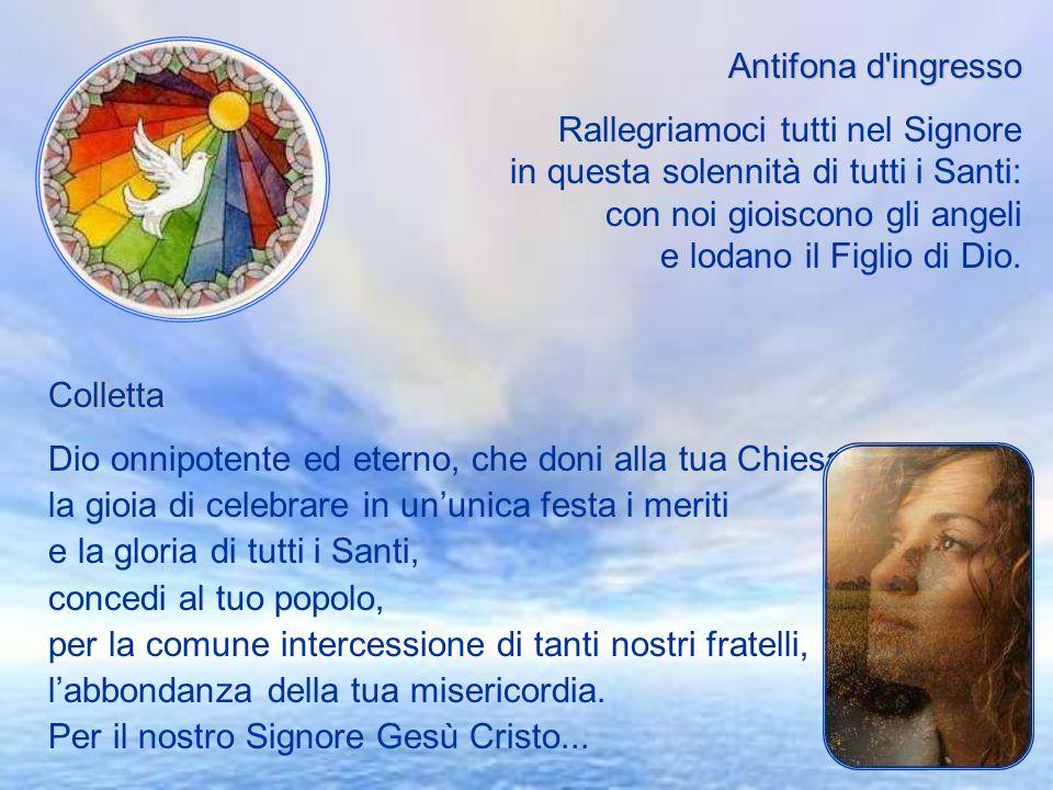 Introduzione Festeggiare tutti i santi è guardare coloro che già posseggono leredità della gloria eterna. Quelli che hanno voluto vivere della loro gr