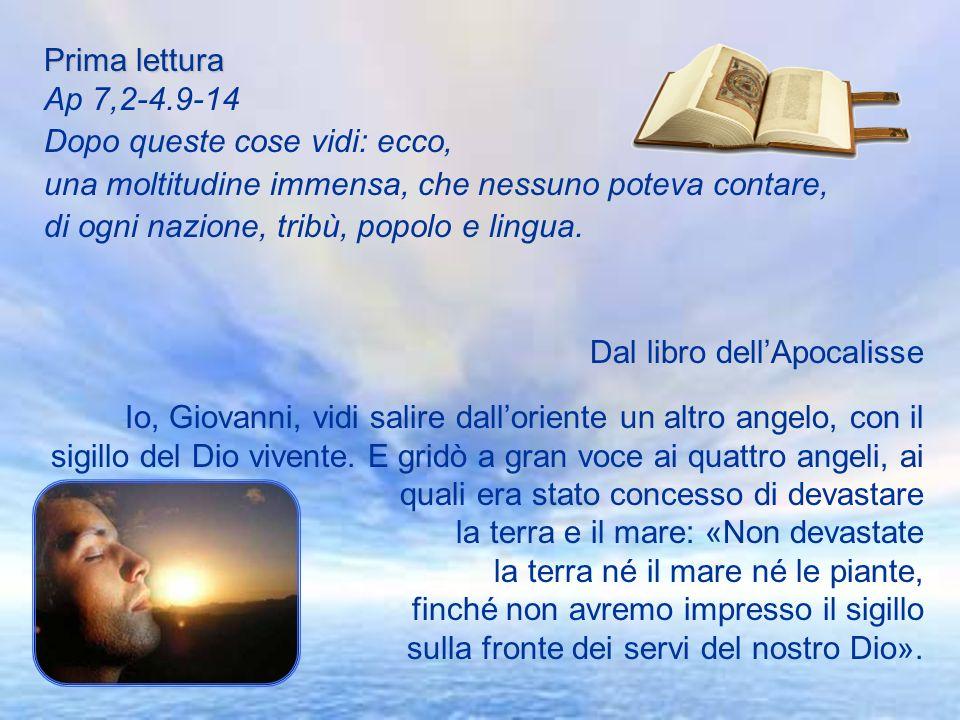 Antifona d'ingresso Rallegriamoci tutti nel Signore in questa solennità di tutti i Santi: con noi gioiscono gli angeli e lodano il Figlio di Dio.Colle