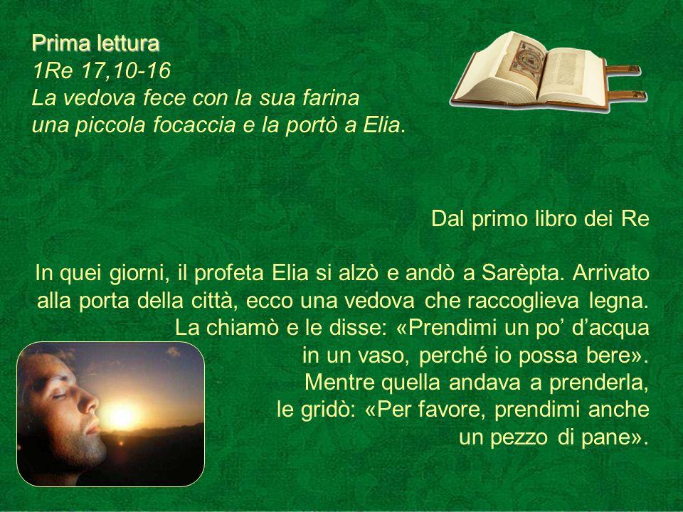 Antifona d ingresso La mia preghiera giunga fino a te; tendi, o Signore, lorecchio alla mia preghiera.
