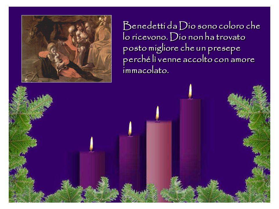 Maria e Giuseppe con la loro fede, speranza e carità escono vittoriosi dalla prova. Né rifiuto, né freddo, né oscurità li può separare dal Dio che nas