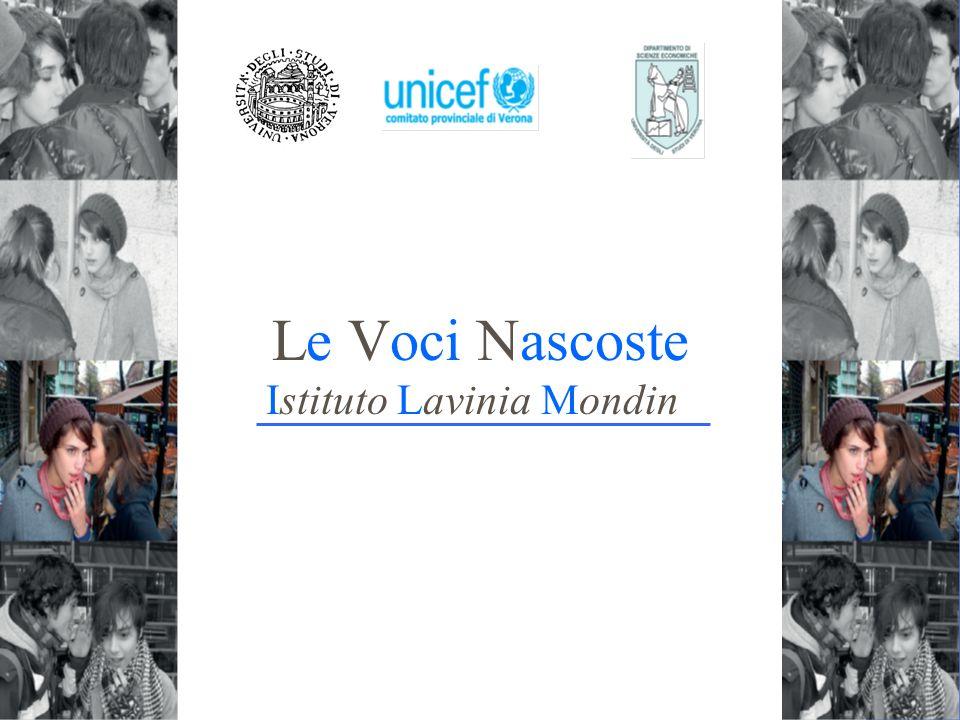 Le Voci Nascoste Istituto Lavinia Mondin Le voci nascoste