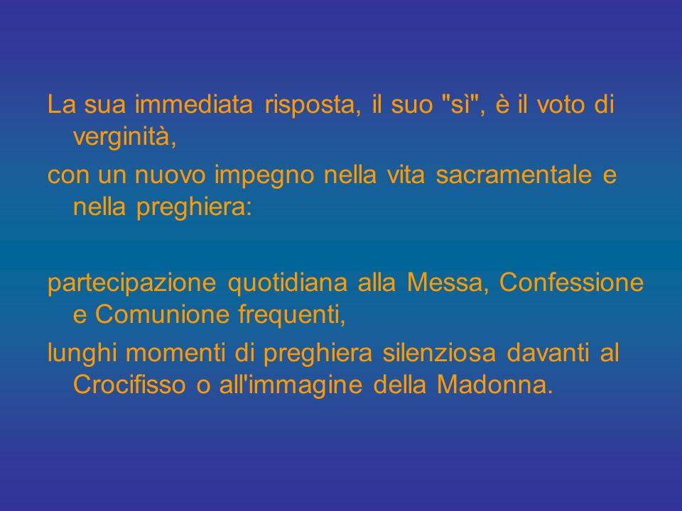 Dalle sue stesse parole, sappiamo che la vita religiosa di Giovanna matura come esperienza mistica a partire dall'età di 13 anni. Attraverso la