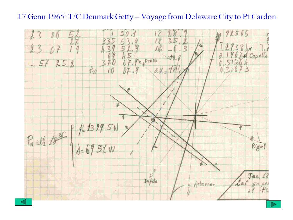 Per vedere dal vero come vengono tracciate le rette daltezza, vi mostro alcuni Punti nave presi dai miei quaderni di navigazione, durante i miei imbar