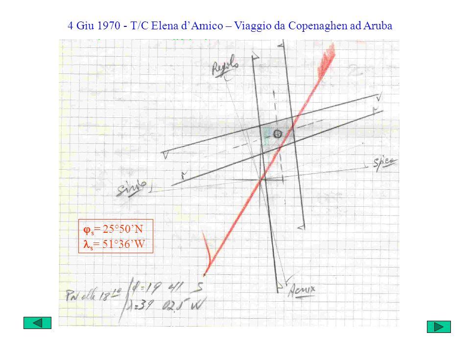 8 Mar 1969 T/C Giuanin Fassio – Viaggio da Lisbona a New York s = 36°27N s = 52°00W Vs = 6 nodi