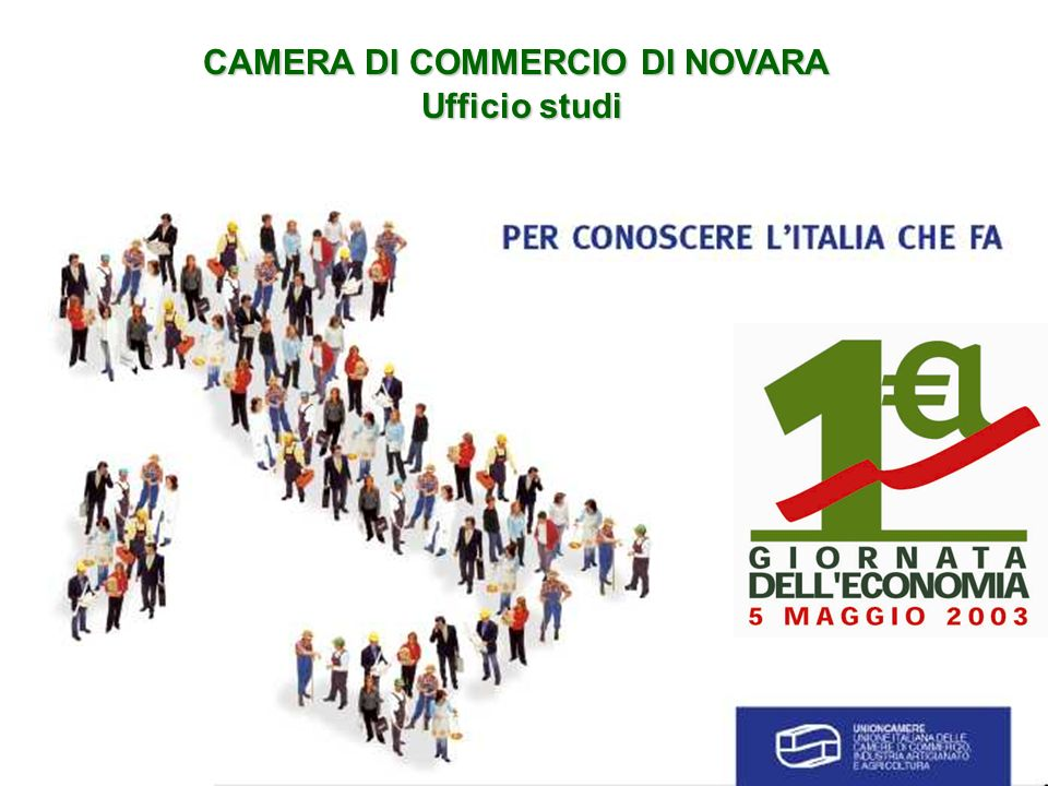 CAMERA DI COMMERCIO DI NOVARA Ufficio studi