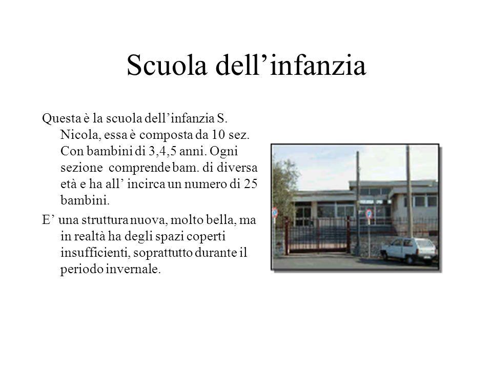 Scuola dellinfanzia Questa è la scuola dellinfanzia S.