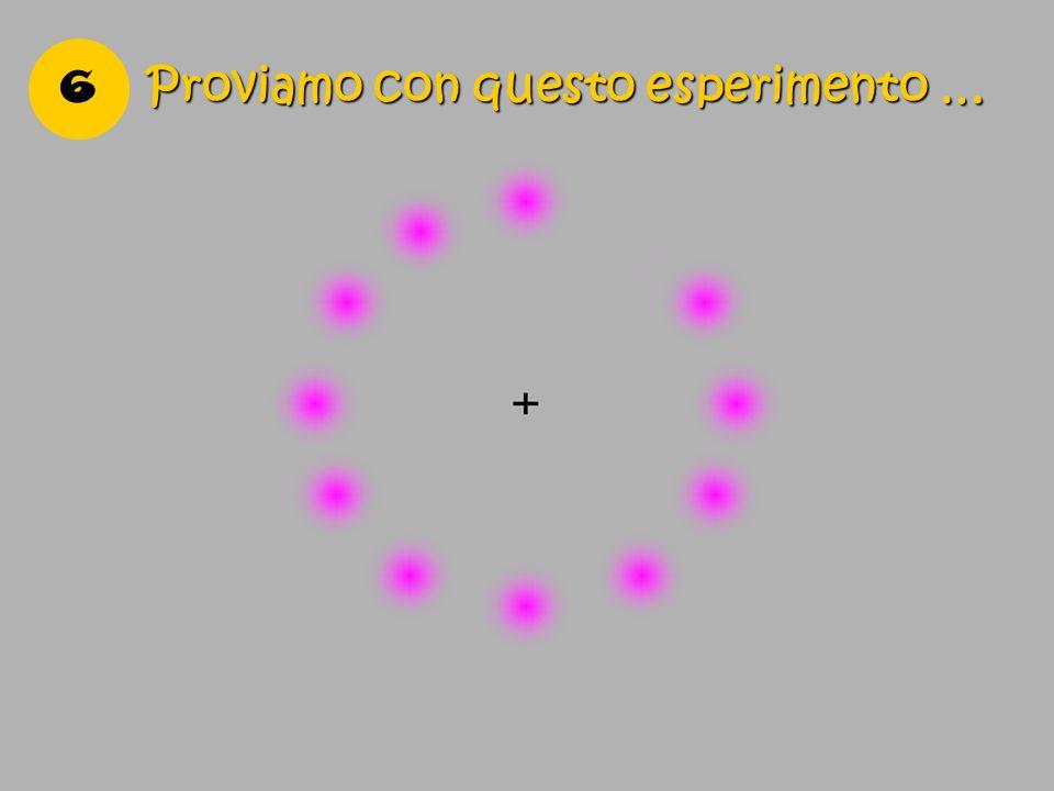 6 Proviamo con questo esperimento …