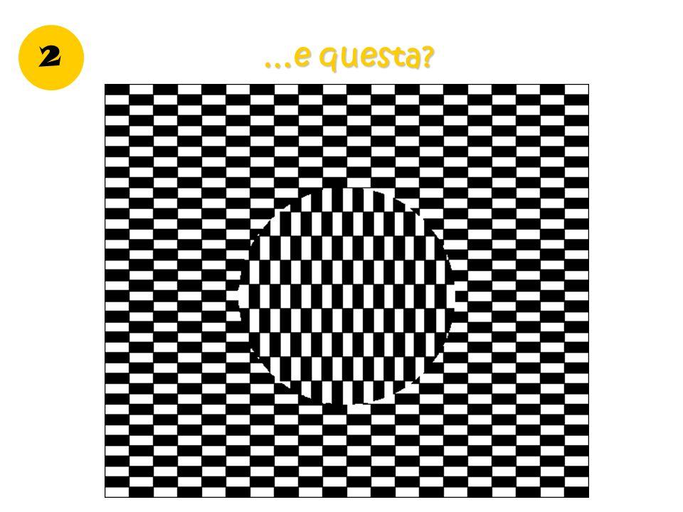 3 Quale delle due immagini ha il cerchio centrale maggiore? 1 2