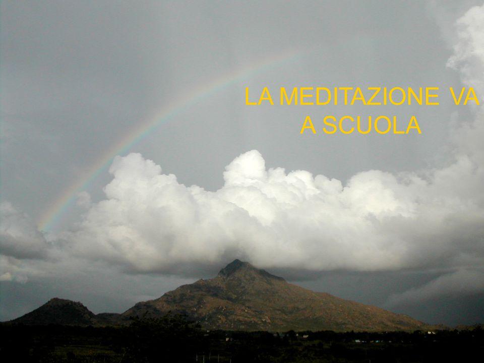 LESPERIENZA DI UN INSEGNANTE Ho partecipato nel gennaio 2007 al Corso di Meditazione organizzato dal mio collega Prof.