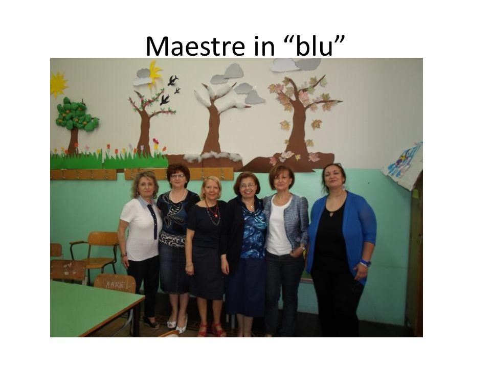 Maestre in blu