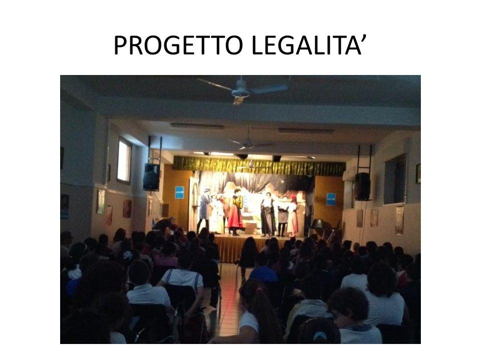 PROGETTO LEGALITA