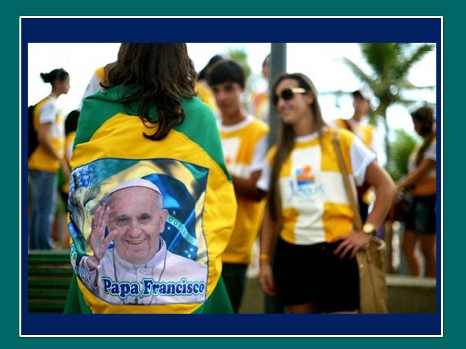 In effetti, laccoglienza delle famiglie brasiliane e delle parrocchie è stata una delle caratteristiche più belle di questa GMG.