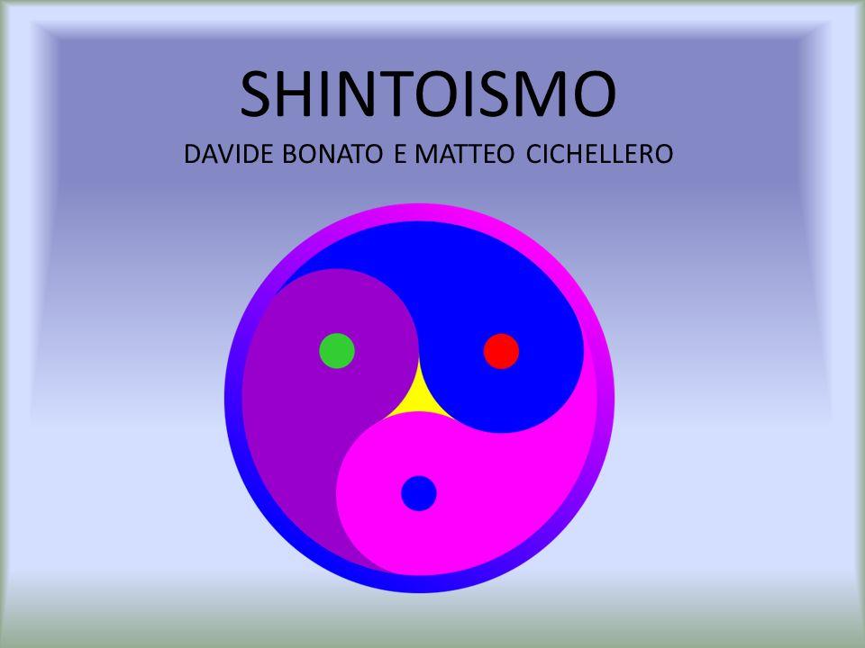ORIGINI o Le origini dello Shintoismo si sono perse nel tempo ma pare che sia nato intorno al VI sec.