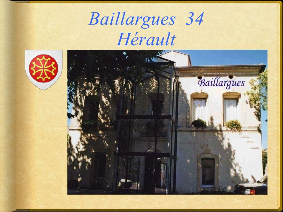 Baillargues 34 Hérault
