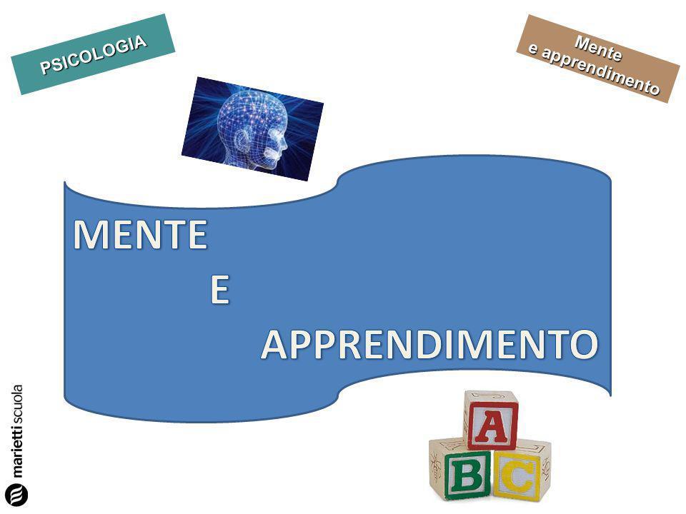 PSICOLOGIA Mente e apprendimento Riflettiamo Quanto contano le scoperte delle neuroscienze.