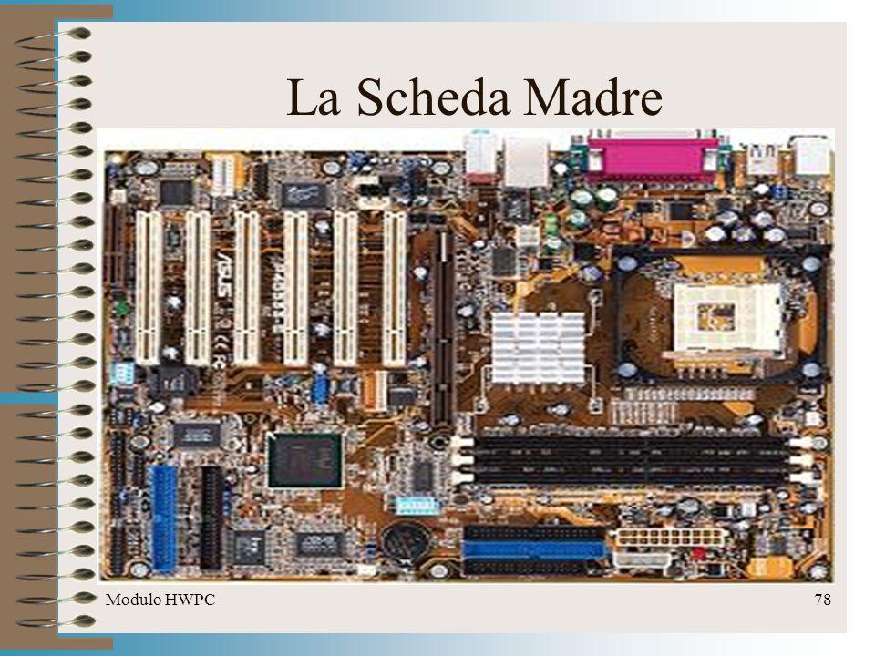 Modulo HWPC78 La Scheda Madre