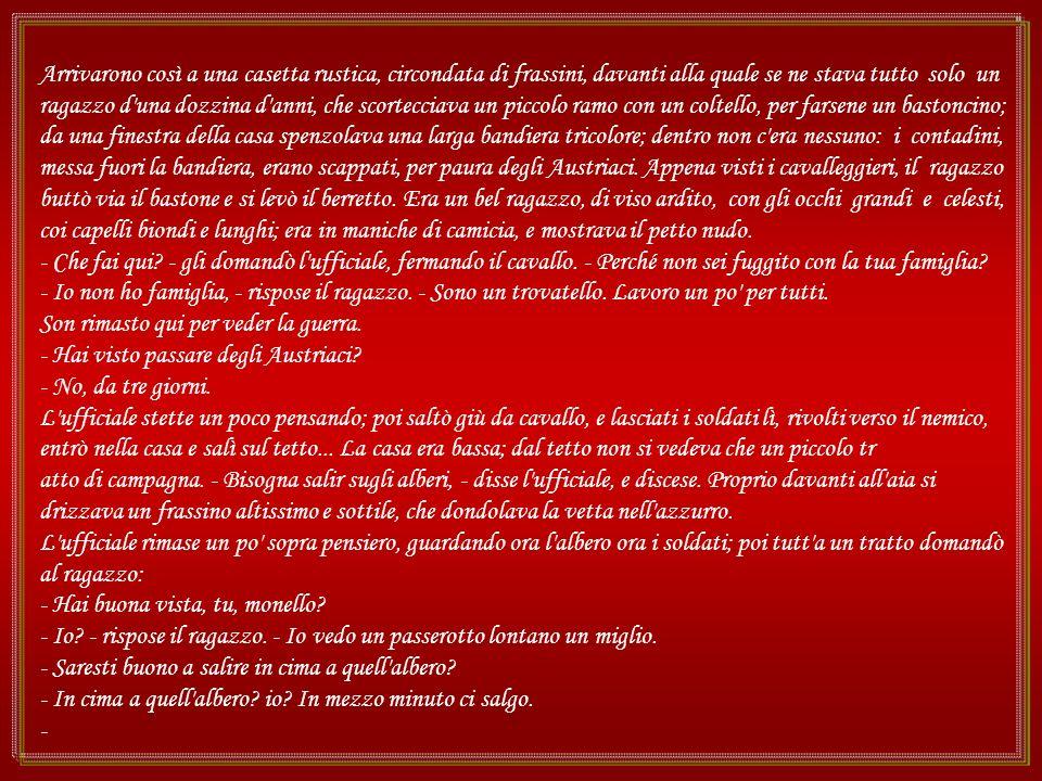 Nel 1859, durante la guerra per la liberazione della Lombardia, pochi giorni dopo la battaglia di Solferino e San Martino, vinta dai Francesi e dagli