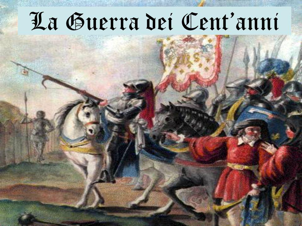Lunione delle due corone I Borgognoni e gli Inglesi annientano lesercito francese ad Azincourt (1415).