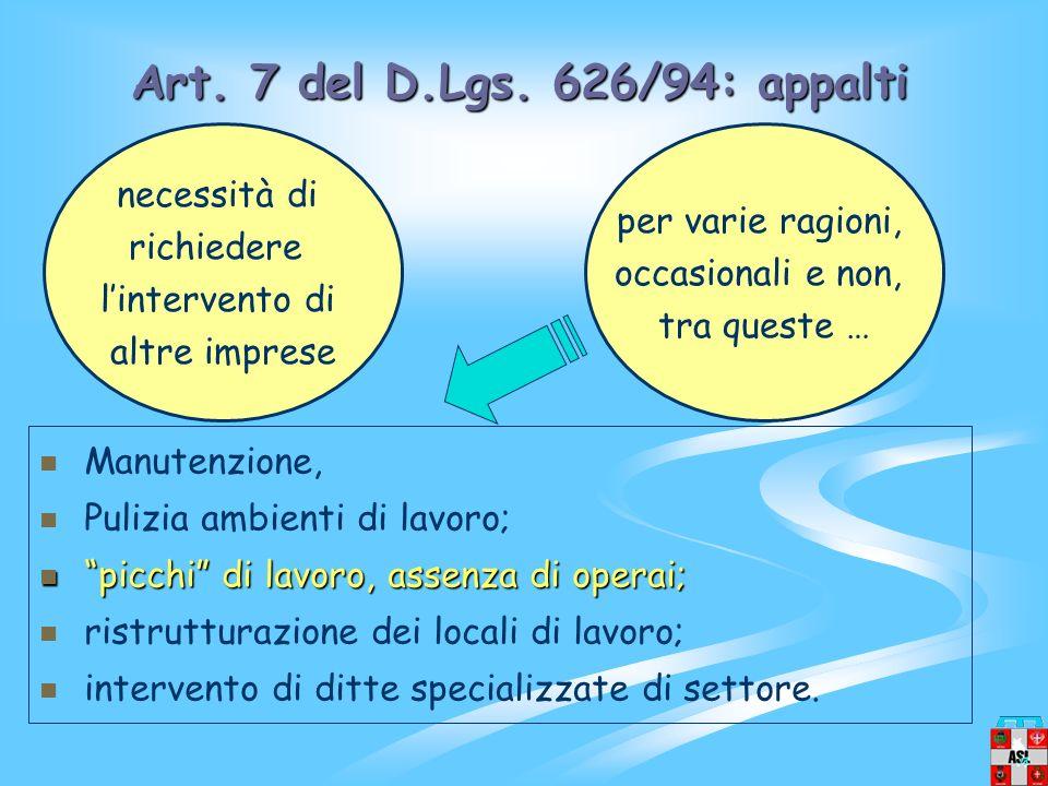 Art.7 del D.Lgs.